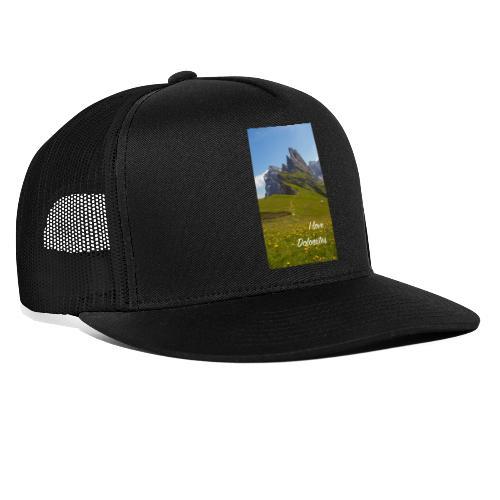Seceda und Geisler Spitzen - Trucker Cap