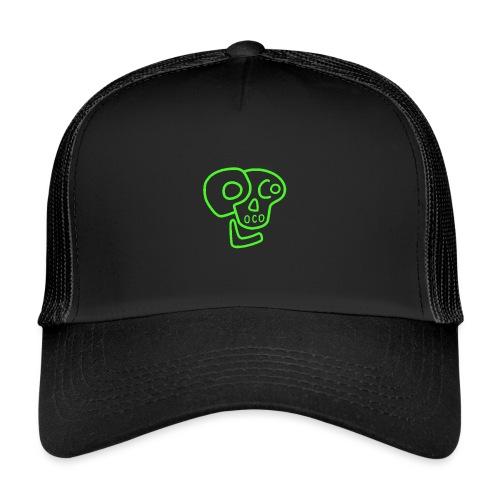 poco loco logo green - Trucker Cap