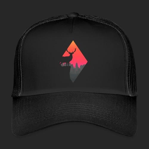 Sunset Deer - Trucker Cap