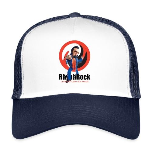 Räyhärock valkoinen - Trucker Cap