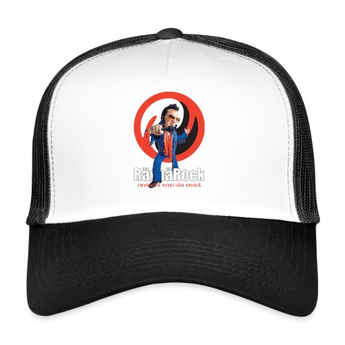Räyhärock musta - Trucker Cap