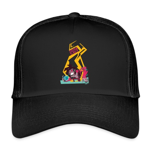 gohan dbz monkey - Trucker Cap