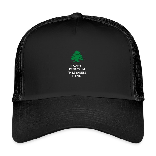 I Can t Keep Calm habibifinal - Trucker Cap