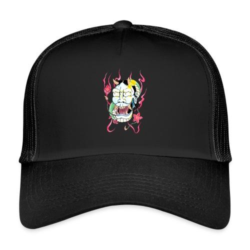 hannya mask - Trucker Cap