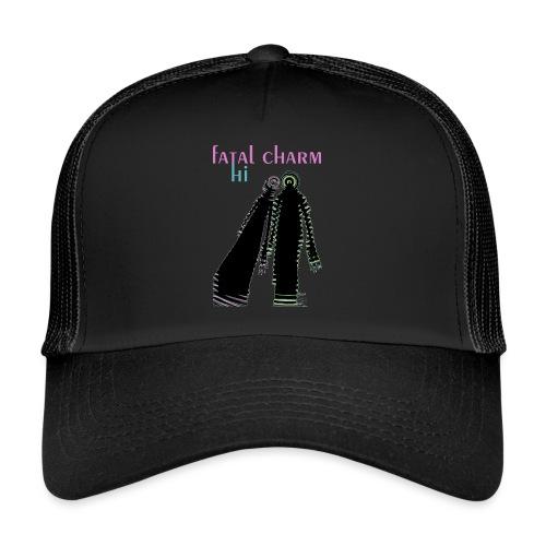 fatal charm - hi album cover art - Trucker Cap
