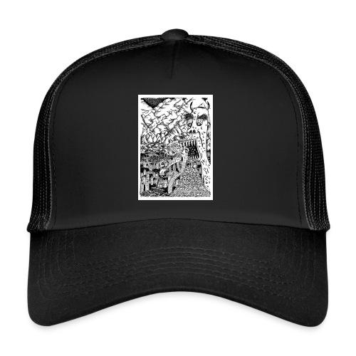 Sea Monsters T-Shirt by Backhouse - Trucker Cap