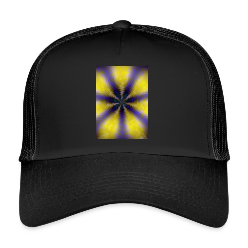 Roundon, Abstract Expressionism,Design 2018 - Trucker Cap
