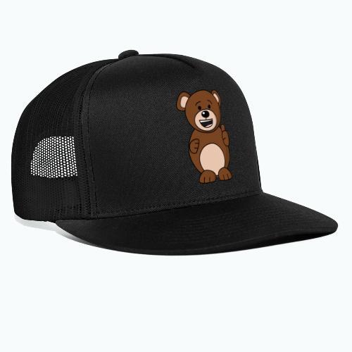 Bruno Bear Happy - Appelsin - Trucker Cap