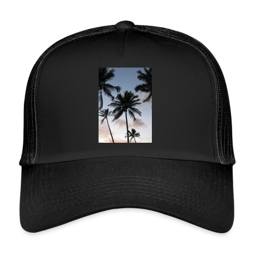 PALMTREES DOMINICAN REP. - Trucker Cap