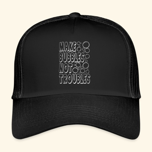 Bubbles003 - Trucker Cap
