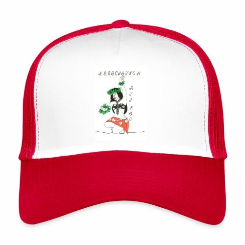 logo fond transparent - Trucker Cap