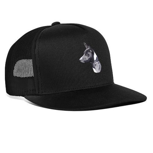 basenji black - Trucker Cap