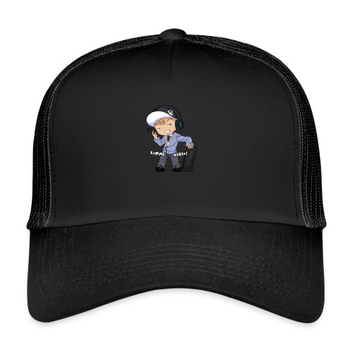 Kapuze Komma Näher mit Text by ShinaiShadow2 png - Trucker Cap