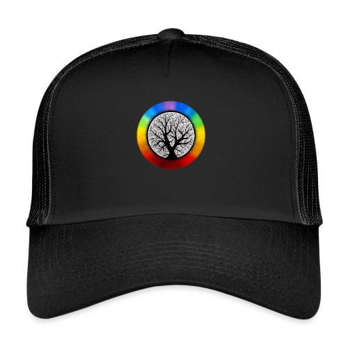 tree of life png - Trucker Cap