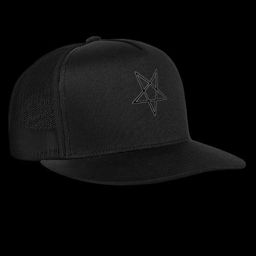 Pentagram4 png - Trucker Cap