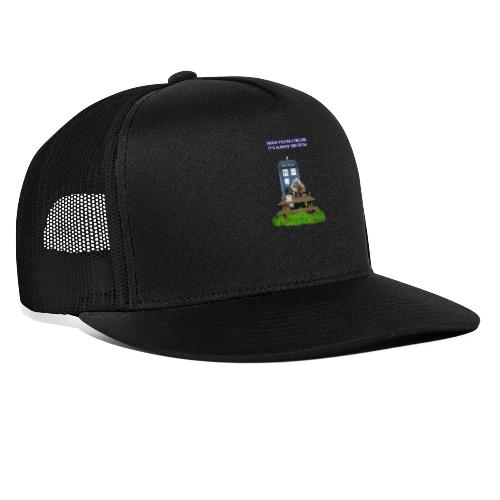 TIME AND SPACE AND TEA - Trucker Cap