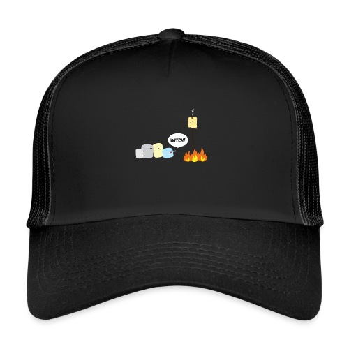 Marshmallow Witch - Trucker Cap