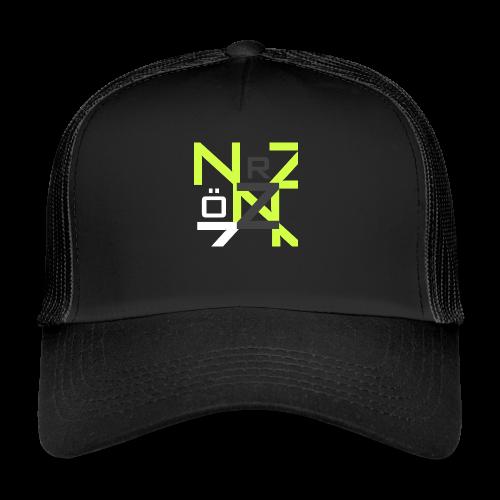 Nörthstat Group™ Clear Transparent Main Logo - Trucker Cap