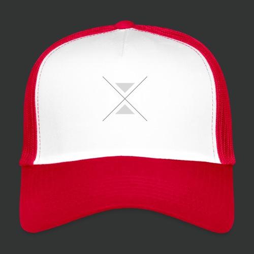 hipster triangles - Trucker Cap