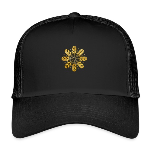 Inoue clan kamon in gold - Trucker Cap
