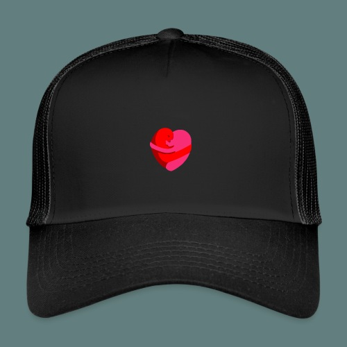 hearts hug - Trucker Cap