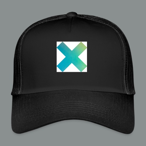 blue X - Trucker Cap