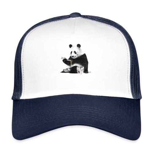 Panda Eating Noodles - Trucker Cap