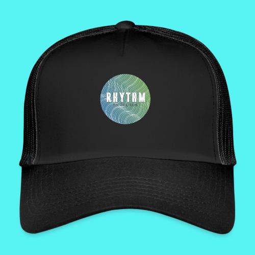 Rhythm On The Run Logo - Trucker Cap
