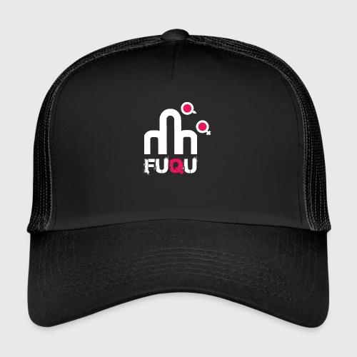 T-shirt FUQU logo colore bianco - Trucker Cap