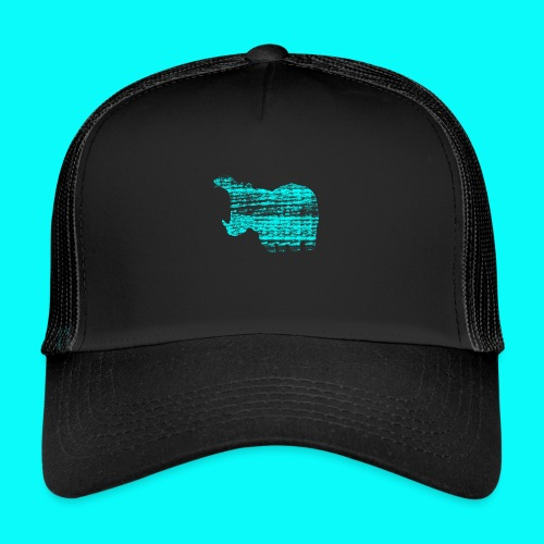 STAFF PICKS - HIPPOPOTAMUS - Trucker Cap