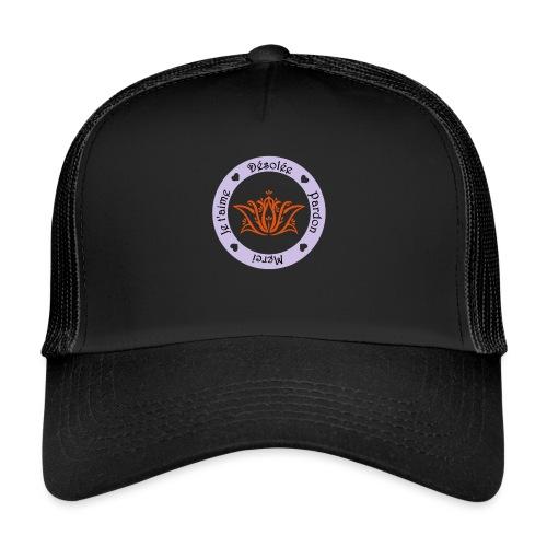 Tee shirt Bio Femme Ho oponopono - Trucker Cap