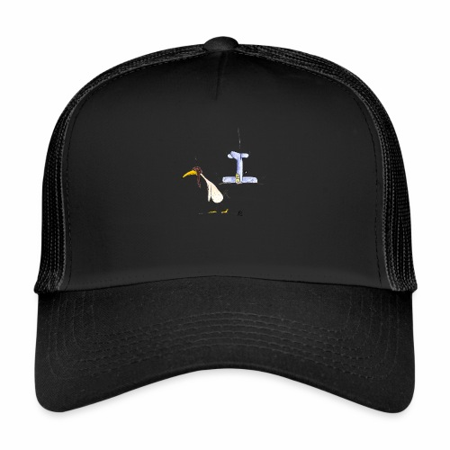 cartoon_Kleimdesign_abstu - Trucker Cap