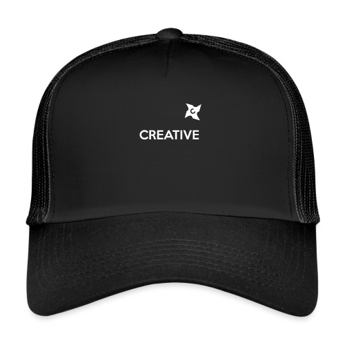 Creative simple black and white shirt - Trucker Cap