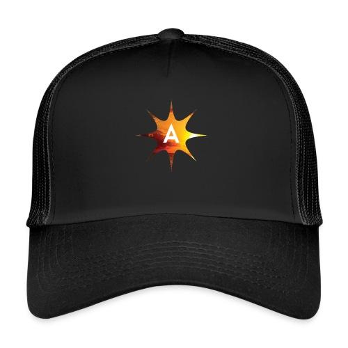 Sunshine Hoodie White - Trucker Cap