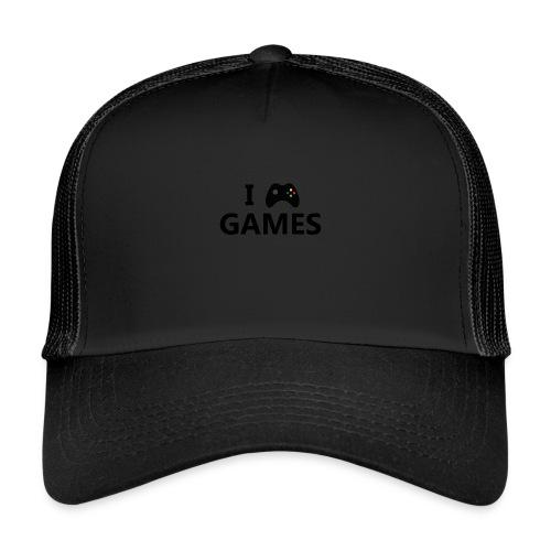I Love Games 3 - Gorra de camionero