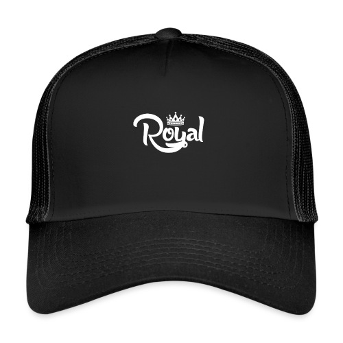 Royal Logo White Edition - Trucker Cap