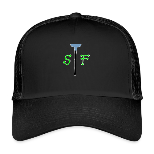 SpinnerFox logo - Trucker Cap