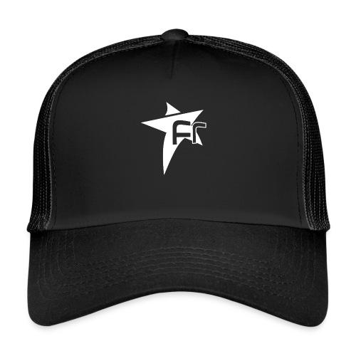 logoFR blanc - Trucker Cap