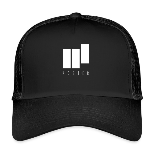 PORTER Sign White - Trucker Cap