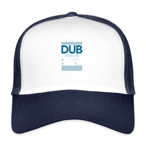 Dublin Ireland Travel - Trucker Cap