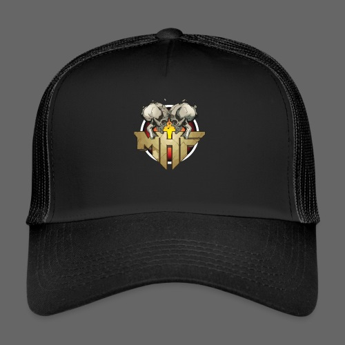 new mhf logo - Trucker Cap