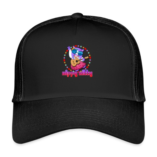 Hippy Kitty - Trucker Cap