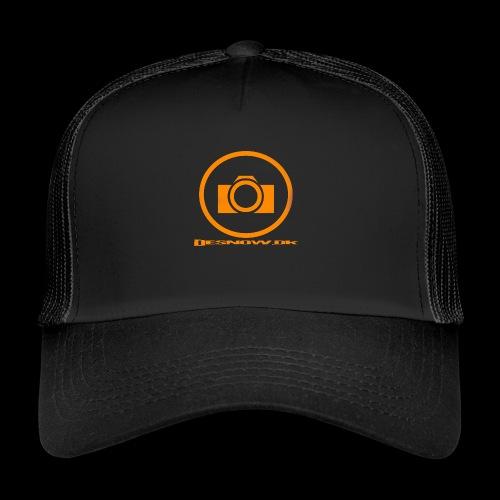 Orange 2 png - Trucker Cap