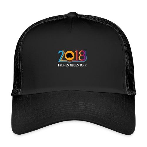 Frohes neues Jahr 2018 Igeldesign - Trucker Cap
