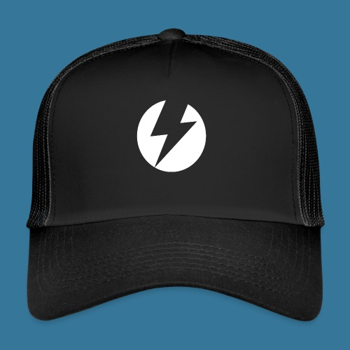 BlueSparks - White - Trucker Cap