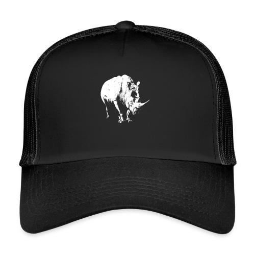White Rhinoceros (highlights only) - Trucker Cap