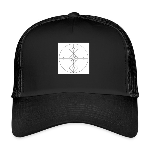 I release family karma now. - Trucker Cap
