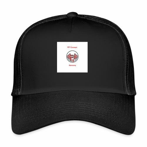 FIT Concept Germany Logo+Beschriftung - Trucker Cap