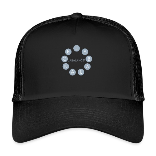 JABALANCE BLACK - Trucker Cap