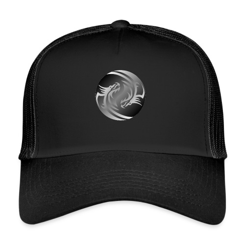 Yin Yang Dragon - Trucker Cap